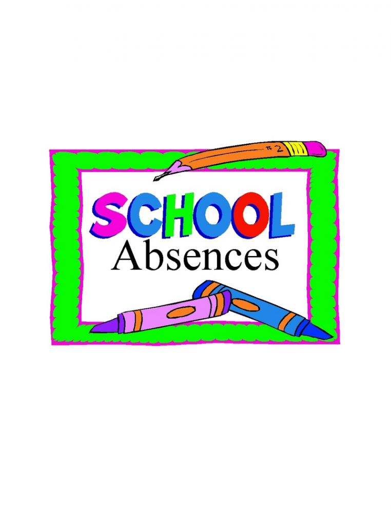Please remember to report your child's absence from school